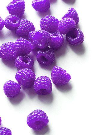 purple raspberries ... I wonder