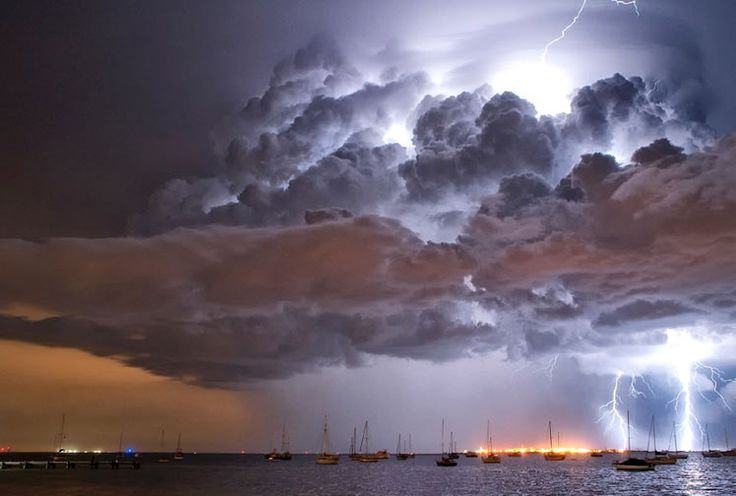 It was a small but intense storm cell that developed quickly almost out of thin air
