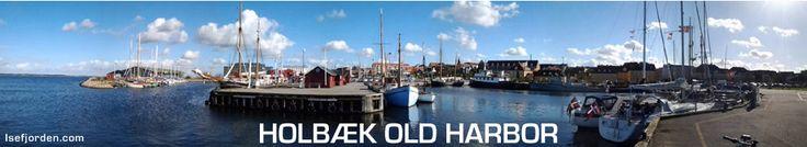 The old harbour/port in Holbaek - Zealand - Denmark
