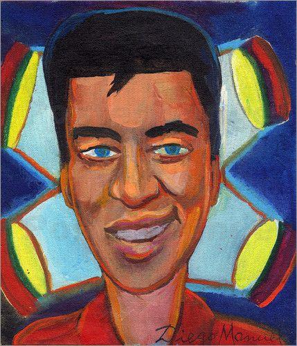 Diego Manuel Rodriguez - elvis presley portrait
