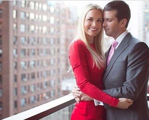 Photos of Donald Trump Jr and his wife Vanessa