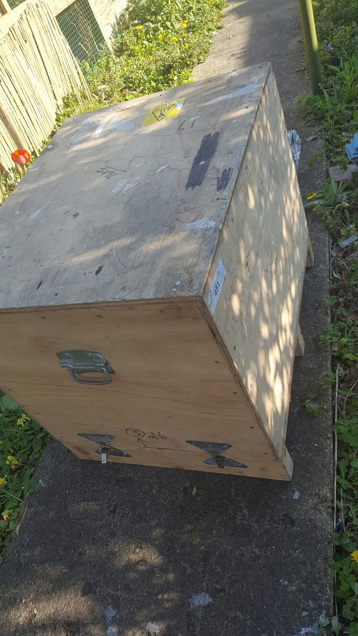 Cargo box bought at auction for £2.