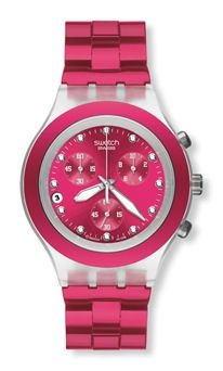 Image detail for -Relojes Swatch Diaphane | Reloj Full Blooded Raspberry - Svck4050ag