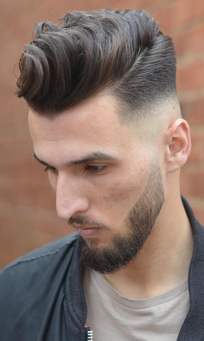 20 Hairstyles For Men With Thin Hair Add More Volume Mens Hairstyles Pompadour Haircuts For Men Pompadour Hairstyle