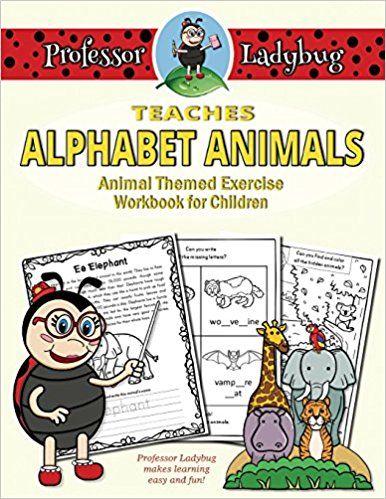 Professor Ladybug Teaches Alphabet Animals by Professor Ladybug, Matthew Wawrzynowicz