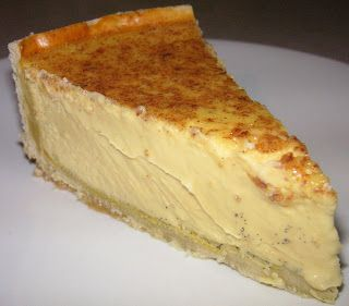 The Caked Crusader: Vanilla custard tart