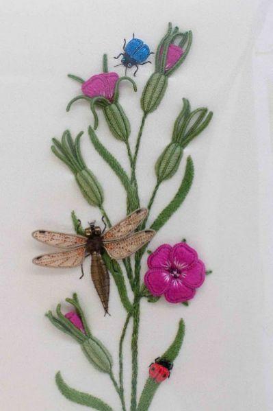 Stumpwork & embroidery on Pinterest