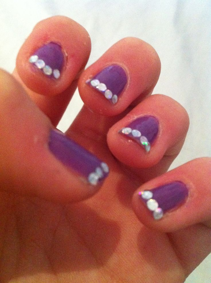 Just got my nails done! GOING TO MIAMI TODAY!