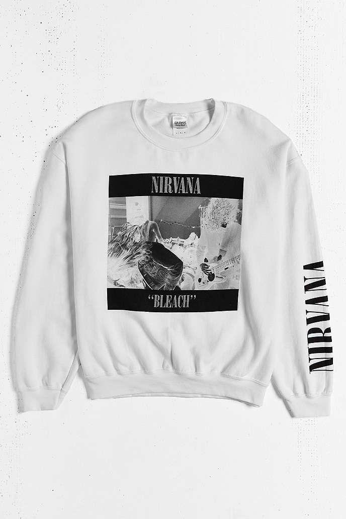 Nirvana 90s Sweatshirt - Urban Outfitters  160493f37c101