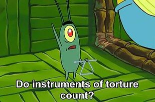 "When it comes to trying to steal the Krabby Patty formula, Plankton has no chill at all. | The ""Secret"" Krabby Patty Formula Has Been Online This Whole Time"