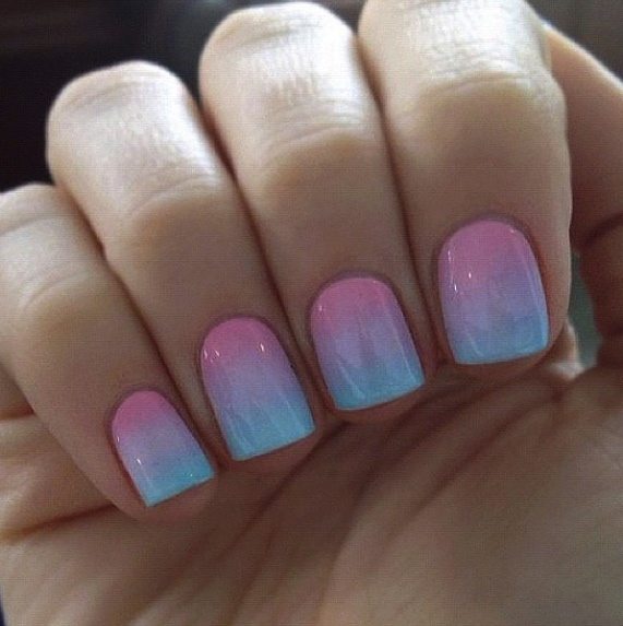 Pink/Blue Ombre