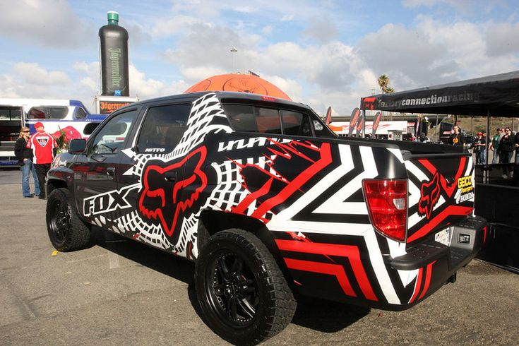 Fox racing hell ya dream vehicles pinterest wraps for Fox honda used cars