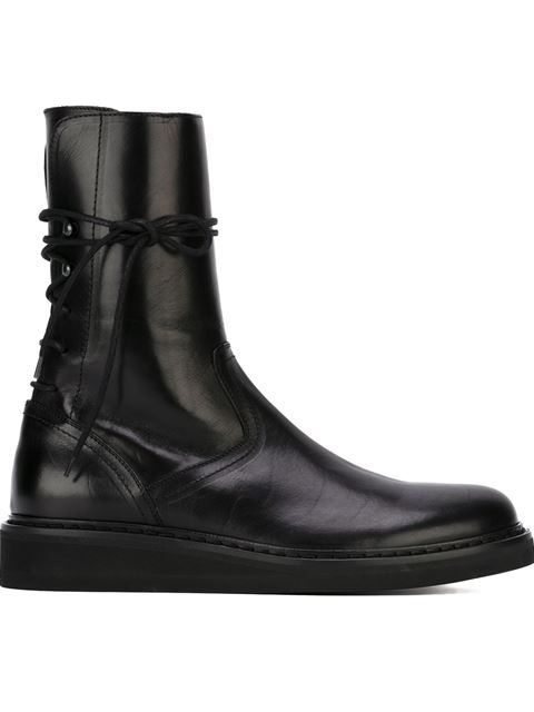 Ann Demeulemeester lace-up boots