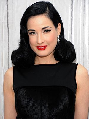 When you think of celebrities who evoke glamour, Dita Von Teese inevitably comes to mind. The 43-year-old burlesque dancer and model practically defines the word. And her commitment to her iconic pin-up look (coiffed, jet black hair, a liquid-liner...