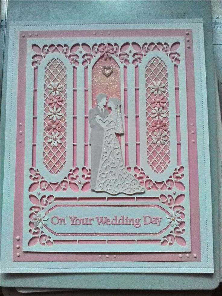 Image result for hand made wedding cards using sue wilson dies