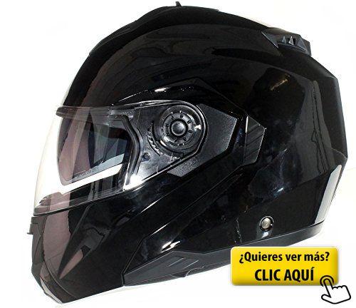 Casco Modular para Motocicleta con Integral Doble... #casco #moto