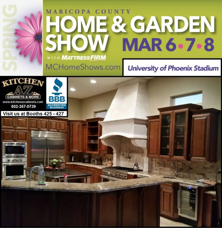 Kitchen Cabinets Phoenix Home And Garden Show Mar 6 8 2015 Booth 425 By Kitchen  AZ