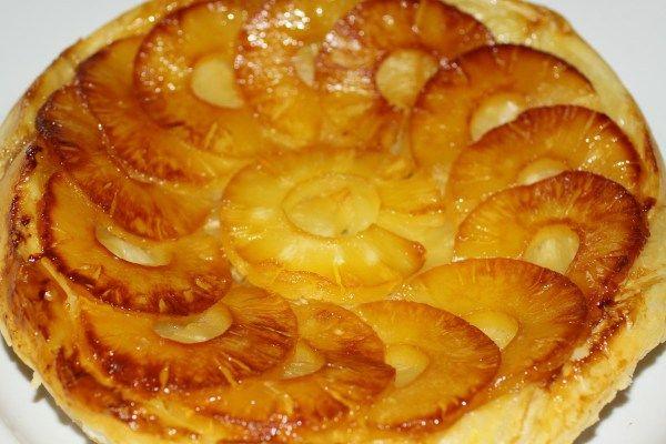 Пирог с ананасами консервированными рецепт с фото