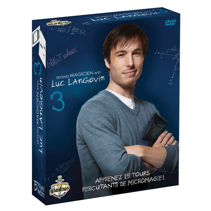 Devenez magicien avec Luc Langevin 3 - Référence : 019910 #Cadeau #Noël #Magie