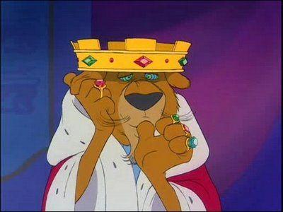 Prince John -- animated Robin Hood