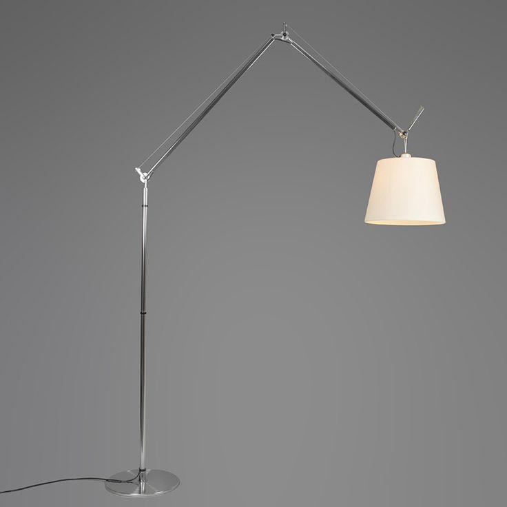 Artemide Tolomeo Mega Terra aluminium - lampandlight.co.uk