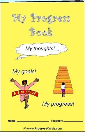 Free Progress Book printable! (for variety of skills- anger, fears, bullying, friendship, test taking, etc)