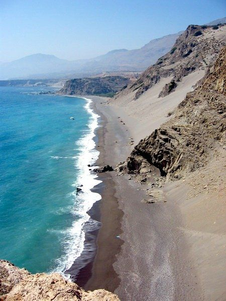 Agios Pavlos beach, near Triopetra