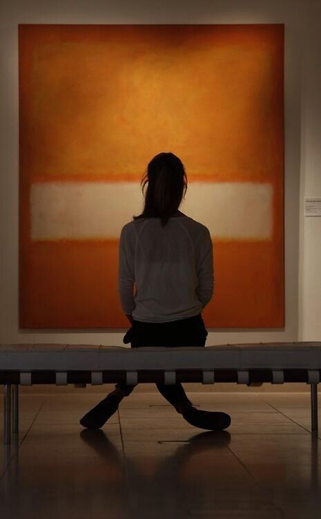 Φλερτάροντας με τον  Rothko.
