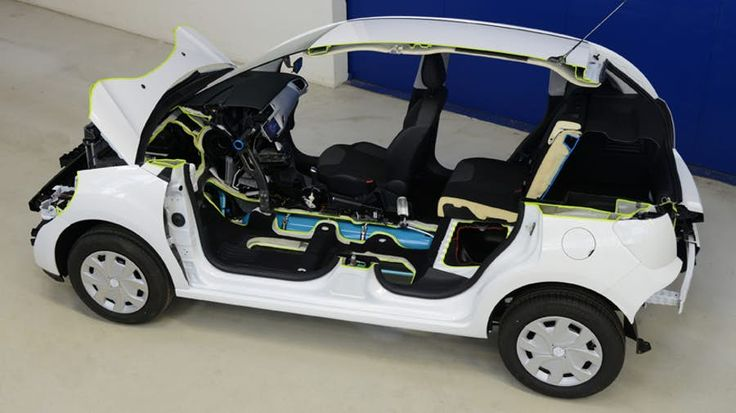 PSA Peugeot Citroen's Hybrid Air technology that combines an ICE with compressed air energy storage technology