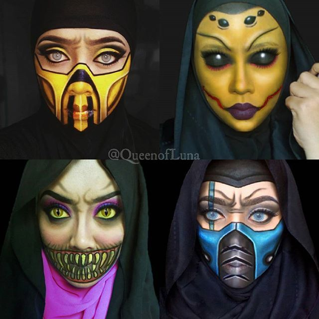 My MK series.  #Scorpion #Mileena #Dvorah #SubZero  #mortalkombat #mortalkombatkrew #kuailiang #mortalkombatx #gamer #gamestagram #ninja #ninjas #ninjamask #mortalkombat9 #ninjawarrior #nerdgasm