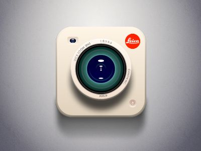 Dribbble - Camera Leica X by Aric