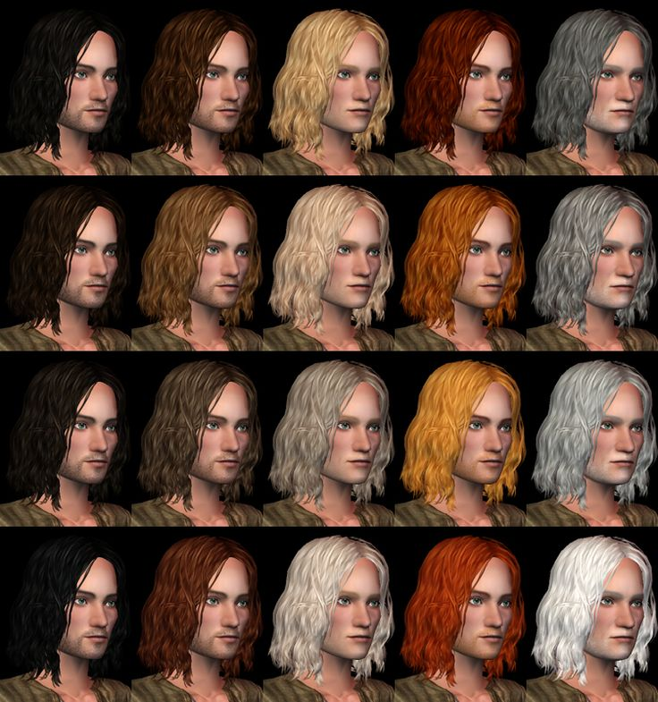 Sims 2 Hairstyles: 100 Best Sims 2 - Hair (Male) Images On Pinterest