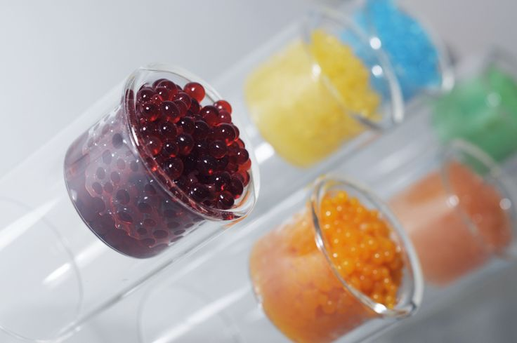 """I love juice """"caviar"""" pearls.  The juice bursts into your mouth.  Instructions on how to do it.  Yay!"""