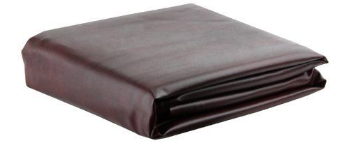 Burgundy Leatherette Pool Table Cover - 8 Foot by Ozone Billiards. $54.00. Finally, a high quality affordablefitted burgundy 8ft pool table cover for everyone. Our 8 foot LeatheretteBurgundy Pool TableCover features high quality vinyl with leatherette finish and double-stitched reinforced seams.Coverhangs 7 1/2 from the top. Protect your investment from dust, fading, spills andpet hair. Please make sure tomeasure the outside of your table to ensure you are ordering the corr...