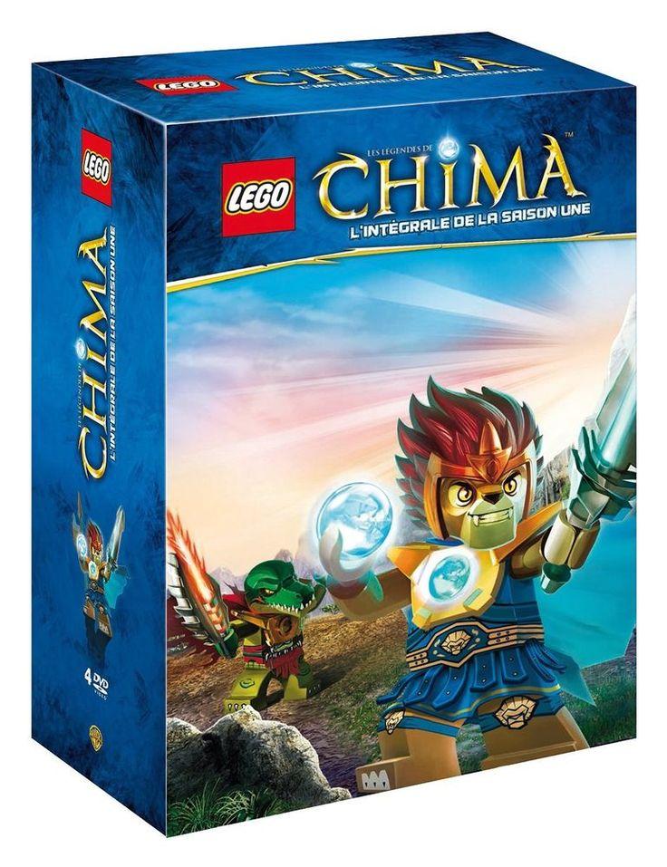 LEGO - Les légendes de Chima - Saison 1 - DVD