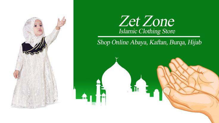 Zet Zone Islamic Clothing Store   Special For Ramadan Shop Online Abaya, Kaftan, Burqa, Hijab, Kid's Abaya, Skirt, Tunic, Jumpsuit, Men's Galabiyya, Kurta Pajama and More...... Visit our Store https://www.zetzone.com  #Abaya #Jilbab #Burqa #Hijab #IslamicClothing #MuslimDress #LongDress #MuslimFashion #KidsAbaya #ModestCollection #Galabiyya #KurtaPajama #Eid #Ramadan #LatestCollection #ShopOnline