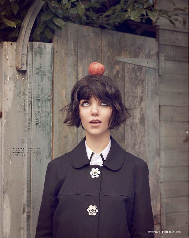 L'Officiel Netherlands, February 2012 photographed by Gemma Booth via The Clothes Horse