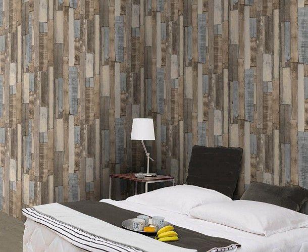 69 best Holztapeten Tapeten in Holzoptik images on Pinterest - bad braun beige