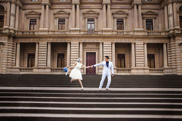 Melbourne city wedding photography