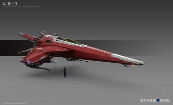 Light Attack Ship by Ásgeir Jón Ásgeirsson | Sci-Fi | 2D | CGSociety