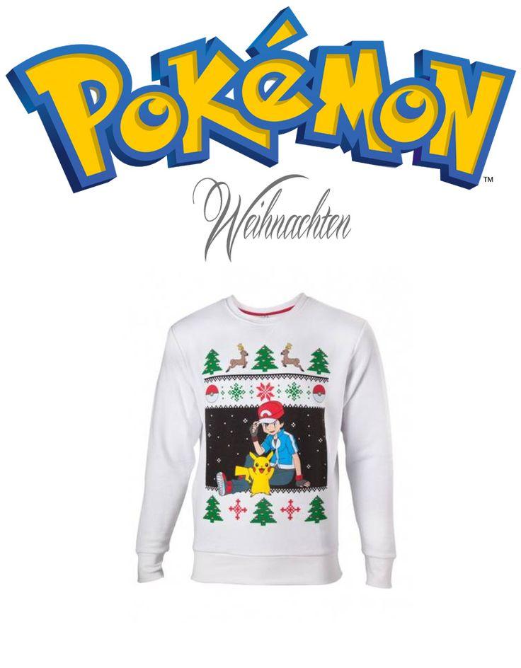 Hammer: #Pokemon Pullover für #Weihnachten Ash & Pikachu
