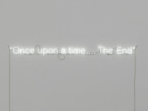 Narrative Fiction - Cerith Wyn Evans - My current obsession is finding a neon sign for my living room