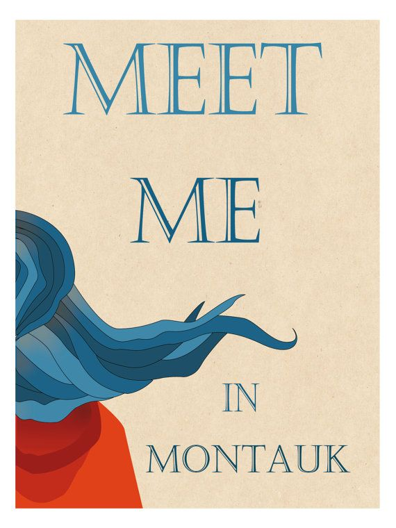 Meet me in montauk - stampa