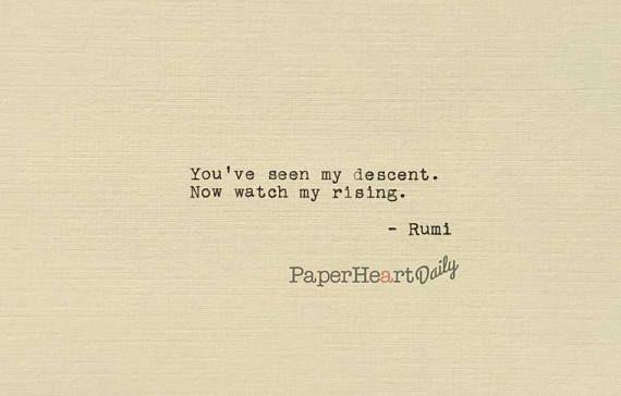 Citazione di Rumi  digitato citazione  visto la mia