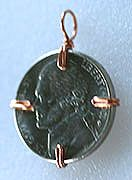 Pendants - Coin or Cabochon....how to use a wig jig to mount a coin or cab.  #Wire #Jewelry #Tutorial