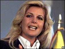 Irene Saez, Venezuela (presidential run in 1998)