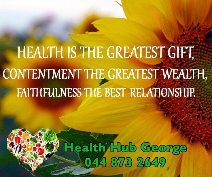 Health is the greatest gift, contentment the greatest wealth, faithfulness the best relationship. #SundayMotivational #HealthHub
