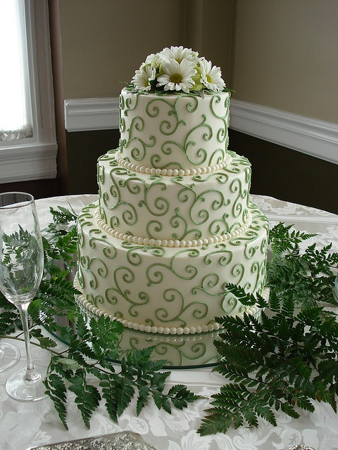 I like the swirls, and the green is the right color!
