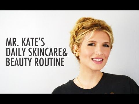 Daily Beauty Routine and Everyday Glamour Make-up Tutorial with Mr. Kate - YouTube