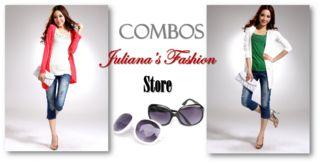 COMBO CHANEL CHALECO + GAFAS - JULIANAS FASHION STORE